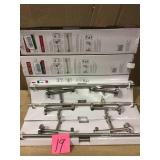 Trinsic 24 in. Double Towel Bar in Brilliance Stainless by Delta Open Box Customer Returns See pictures.