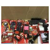 MIX LOT OF HUSKY TOOLS & MISC. Open Box Customer Returns See pictures.
