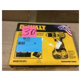 20-Volt MAX XR Cordless Brushless 1/2 in. Drill/Driver with (1) 20-Volt 5.0Ah Battery, Charger & Bag by DEWALT Open Box Customer Returns See pictures.