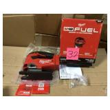 M18 FUEL 18-Volt Lithium-Ion Brushless Cordless Jig Saw (Tool-Only) by Milwaukee Open Box Customer Returns See pictures.