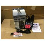 1/4 HP Submersible Thermoplastic Utility Pump by Superior Pump Open Box Customer Returns See pictures.