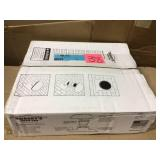 Roof Vent Kit, Bath and Dryer in Bronze Open Box Customer Returns See pictures.