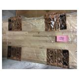 Unfinished Birch 4 ft. L x 25 in. D x 1.5 in. T Butcher Block Countertop Open Box Customer Returns See pictures.