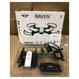 Sky Rider DRWG538B Raven Foldable Drone with GPS and Wi-Fi Camera, Black Open Box Customer Returns See pictures.
