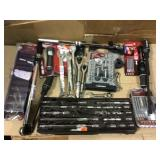 BIG MIX LOT OF HUSKY TOOLS Open Box Customer Returns See pictures.