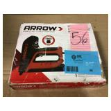 6 in. Electric Stapler and Brad Nailer by Arrow Open Box Customer Returns See pictures.