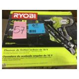 18-Volt ONE+ Lithium-Ion Cordless AirStrike 15-Gauge Angled Finish Nailer (Tool Only) with Sample Nails by RYOBI Open Box Customer Returns See pictures.