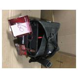 10 in. Electrician Tool Bag with Removable Tool Wall by Husky Open Box Customer Returns See pictures.