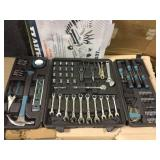 3/8 in. Drive SAE and Metric Home Tool Kit Set (137-Piece) by Anvil Open Box Customer Returns See pictures.
