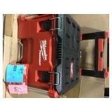 """Milwaukee 48-22-8426 - PACKOUT Rolling Plastic Tool Box (22""""W x 26""""D x 19""""H) in good condition"""