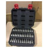 3/8 in. Drive Master Bit Socket Set (37-Piece) by Husky Open Box Customer Returns See pictures.