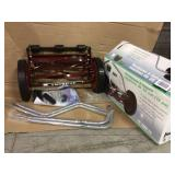 14 in. Manual Walk Behind Reel Lawn Mower by American Lawn Mower Company Open Box Customer Returns See pictures.