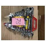 12-Point SAE Flex-Head Ratcheting Combination Wrench Set (13-Piece) by GEARWRENCH Open Box Customer Returns See pictures.