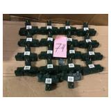 15 Amp Heavy-Duty Adapter with Protection Cover by Commercial Electric Open Box Customer Returns See pictures.