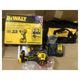 20-Volt MAX XR Cordless Brushless 3-Speed 1/4 in. Impact Driver with (1) 20-Volt 5.0Ah Battery & Charger by DEWALT Open Box Customer Returns See pictures.