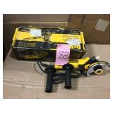 7 Amp 4-1/2 in. Small Angle Grinder with 1-Touch Guard by DEWALT Open Box Customer Returns See pictures.
