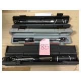 5-80 ft. lbs. 3/8 in. Drive Digital Display Click Torque Wrench by Husky Open Box Customer Returns See pictures.