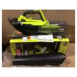135 MPH 440 CFM 8 Amp Corded Electric Jet Fan Blower by RYOBI Open Box Customer Returns See pictures.