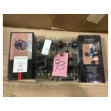 Prestige Carnaby Venetian Bronze Bed/Bath Door Knob by Baldwin Open Box Customer Returns See pictures.