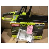 ONE+ 10 in. 18-Volt Lithium-Ion Cordless Battery Chainsaw (Tool Only) by RYOBI Open Box Customer Returns See pictures.