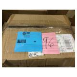 4-1/2 in. H x 8 in. L Black Single Hat Holder (Pack of 24) by Econoco Open Box Customer Returns See pictures.
