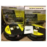 Karcher 15 in. 3200 PSI Surface Cleaner for Gas Pressure Washers Max Open Box Customer Returns See pictures.