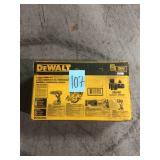Dewalt 20-Volt MAX Cordless Combo Kit (4-Tool) with (2) 20-Volt 2.0Ah Batteries & Charger open box not used
