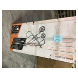 Ridgid Universal Mobile Miter Saw Stand with Mounting Braces not used see pictures
