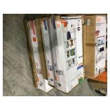 Pallet with assorted Shelving Storage Units varius models and conditions  see pictures