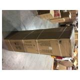 Husky 48 in. W x 72 in. H x 18 in. D Steel Garage Floor Cabinet not used