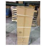 Husky 72 in. H x 30 in. W x 18 in. D Steel Tall Garage Cabinet not used
