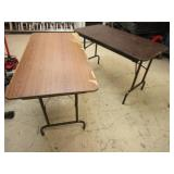 MULTI-PURPOSE TABLES, WITH COLLAPSIBLE LEGS