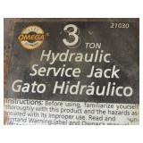 BIG RED JACKS PRO SERIES 3-TON FLOOR JACK, OMEGA SERVICE JACK