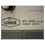LINDE VI-252 POWER SUPPLY AND MIG-35 WIRE FEEDER WELDER