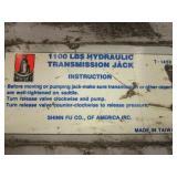 PRO-LIFT 1,100 LBS. HYDRAULIC TRANSMISSION JACK