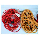 Lot of Extension Cords and Jumper Cables