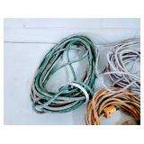 Bucket of Extension Cords