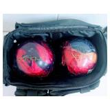 2 Bowling Balls and Bag