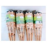 4 Mainstays Bamboo torches