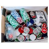 Las Vegas Poker Chips and Harley Playing Cards