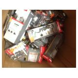 Gaylord full of assorted door knobs and hardware customer returns open Pkgs see pictures