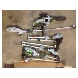Lot of assorted Ego Outdoor Tools various models and conditions see pictures