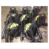 Lot of Ryobi Backpack Blowers used various conditions see pictures