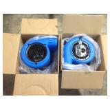 Lot of 2 - Vent VP-25 Air Mover customer returns see pictures