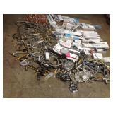 Lot of assorted faucet parts amd plumbing items used customer returns see pictures
