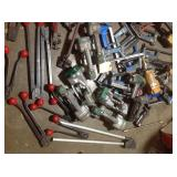 Lot of assorted strapping tools used various conditions see pictures