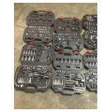 Lot of assorted Mechanical Tools Sets various customer returns see pictures