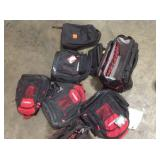 Lot of assorted Husky Backpacks/Tools carriers see pictures