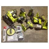 Lot of assorted Ryobi Tools various kinds and conditions  see pictures