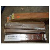 Pallet with assorted wood flooring see pictures